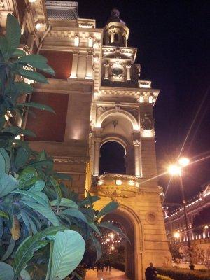 Огни ночного Баку