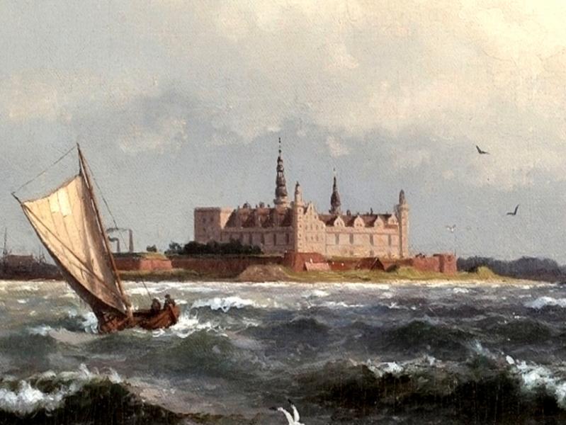 Замок влюблённого короля — Кронборг