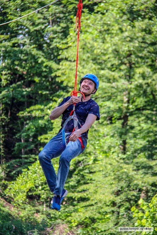 Солох-аул-парк: БТРинг, полеты на воздушном шаре, троллейный атракцион