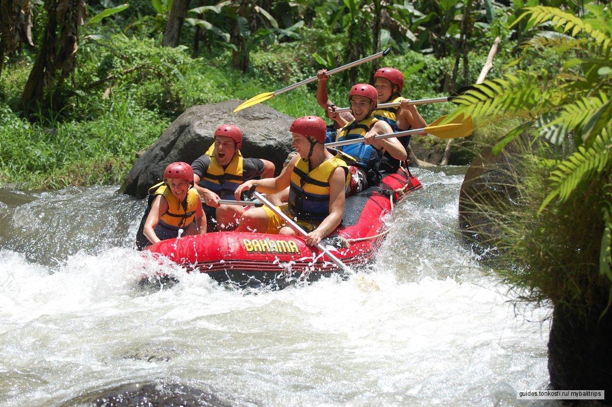 Рафтинг на Бали по рекам Аюнг и Телага