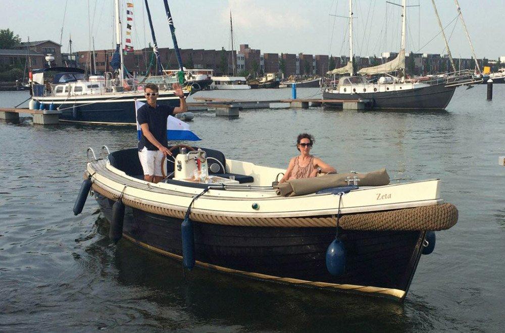 За штурвалом по амстердамским каналам