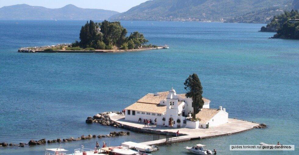 Экскурсия с дипломированным (легальным) экскурсоводом для гостей с лайнеров из порта Корфу