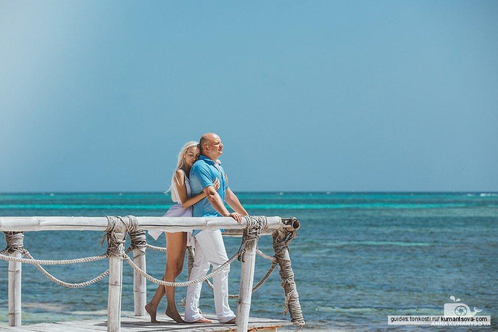 Фотосессия «Лавстори» на пляже Амор