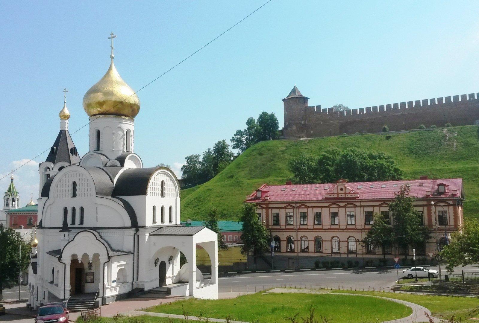 Обзорная экскурсия по Нижнему Новгороду (3 ч.)