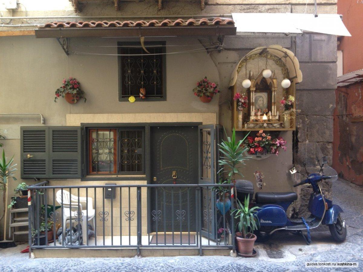 Колорит Неаполя — исторический центр