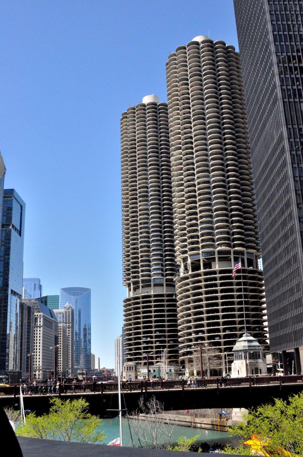 По берегам реки Чикаго