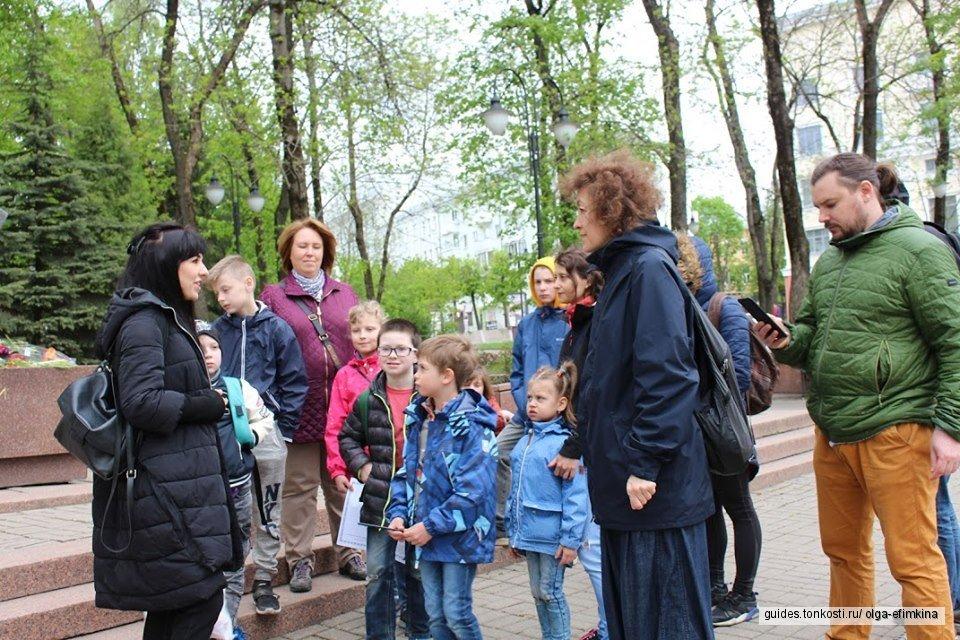 Экскурсия для семей с детьми «Смоленск — город-сказка!»