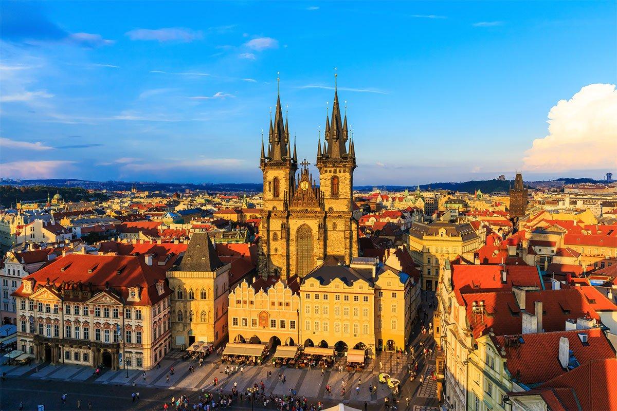 Обзорная экскурсия в Праге