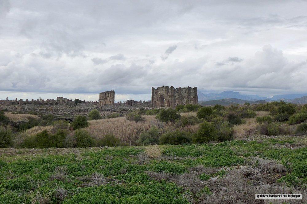 Два античных города: Аспендос и Перге
