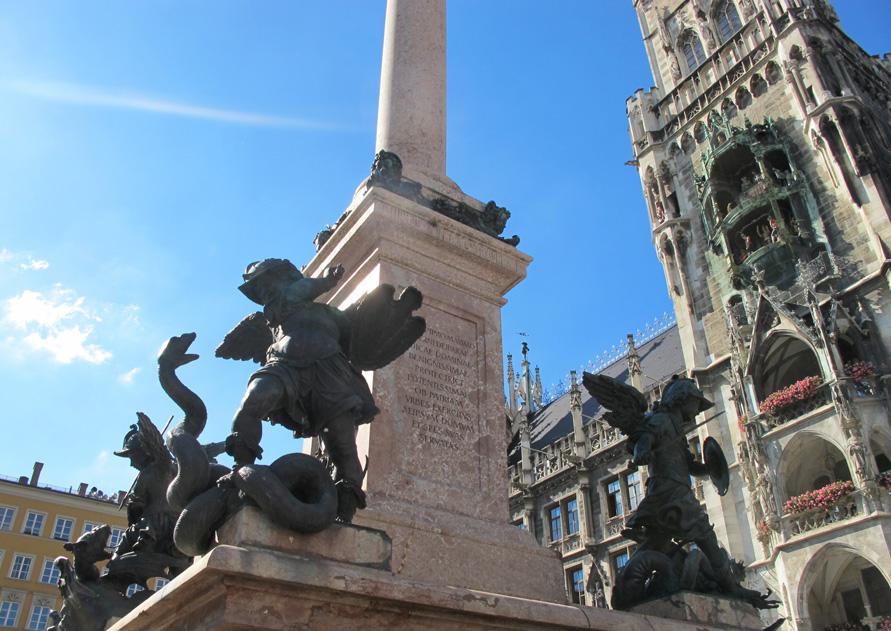 Старый город Мюнхена — легенды и тайны