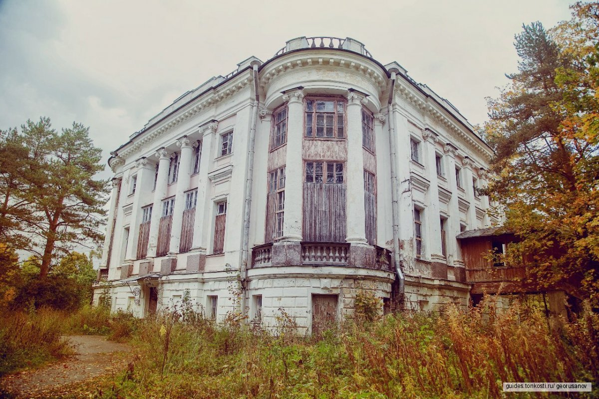 Заброшенные усадьбы и дворцы