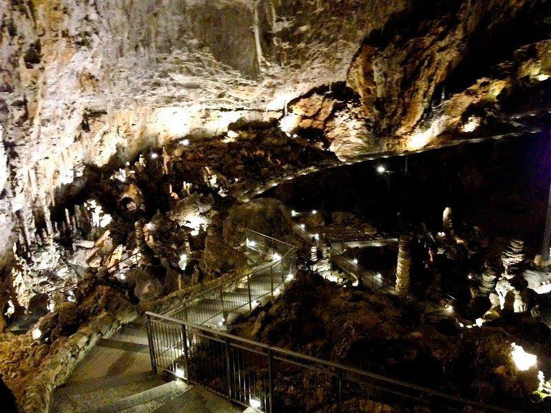 Пещера Grotta Gigante. Экскурсия в Италию