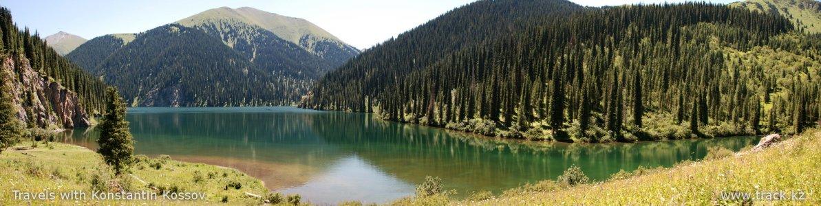 Кольсайские озера и озеро Каинды