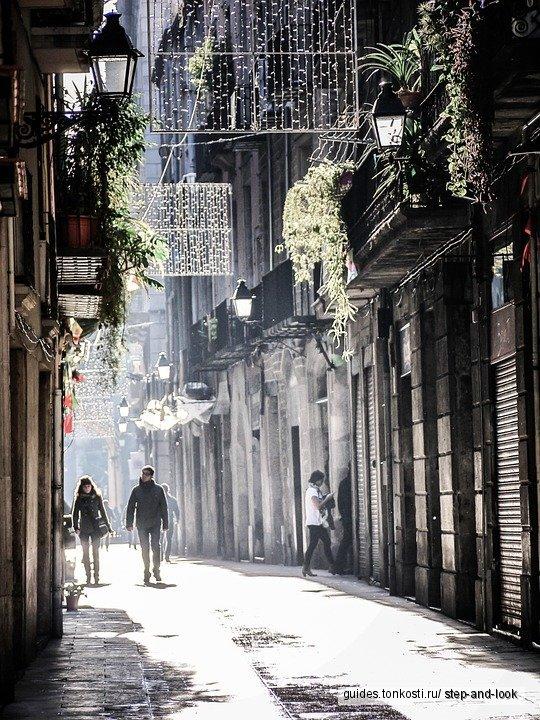 Старый город Барселоны за 3 часа