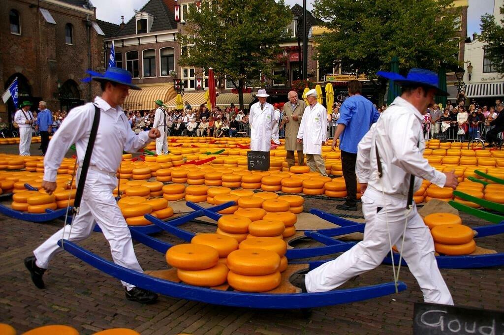 Голландия для своих: сырный рынок в Алкмар