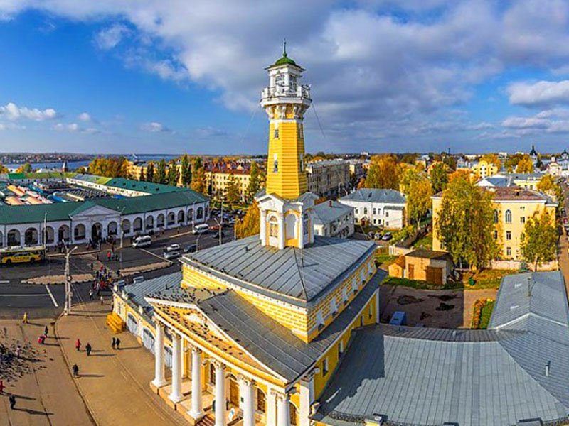 Кострома за 3 часа. Обзорная экскурсия + экскурсия в Ипатьевский монастырь