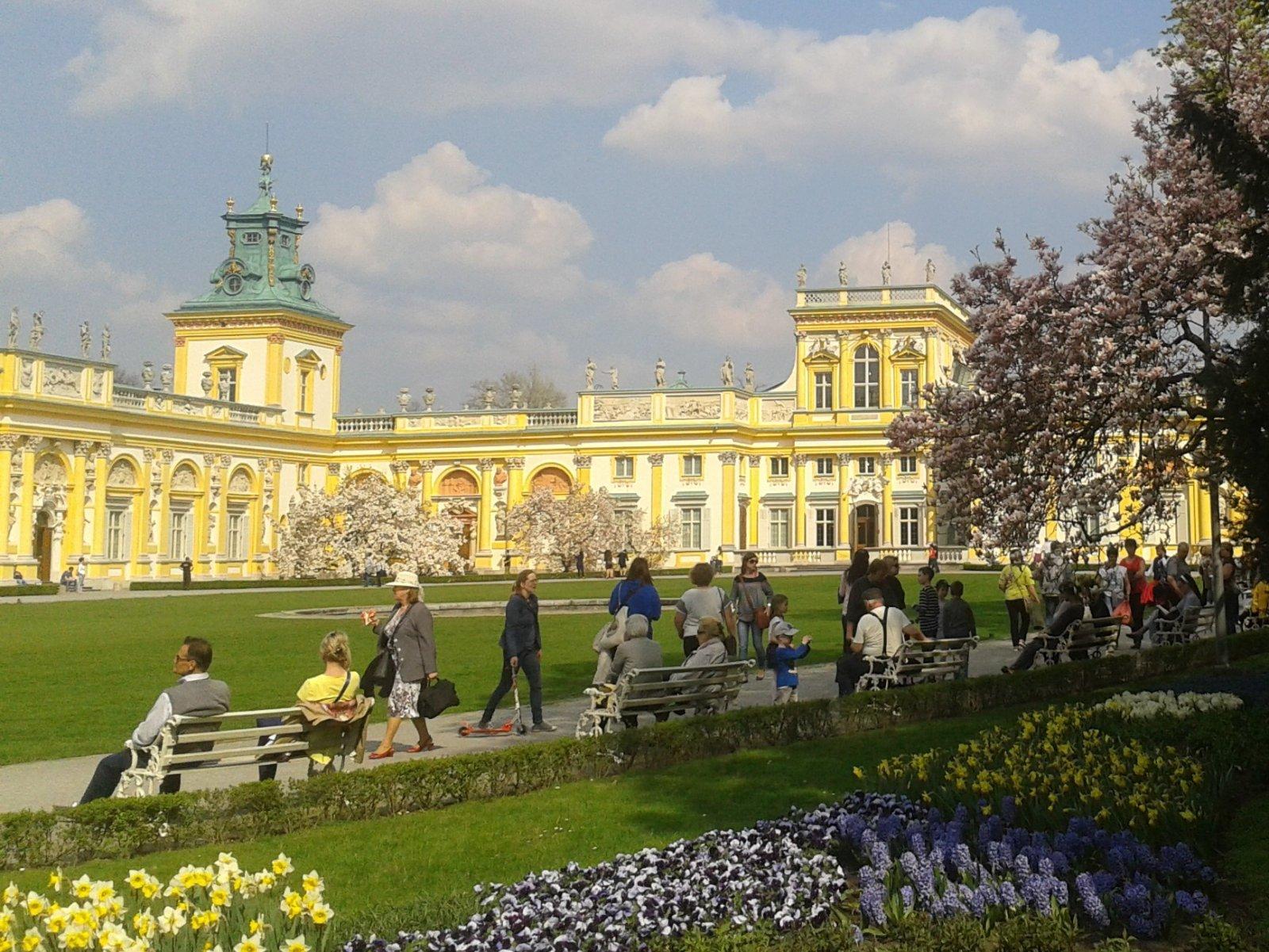 Королевские места — жемчужина барокко Вилянов и Лазенковский парк