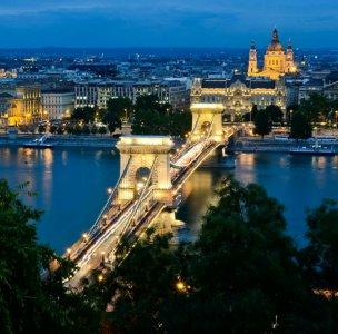 Экспресс-экскурсия по вечерней «Жемчужине Дуная» — Будапешту (Пешт и Буда)
