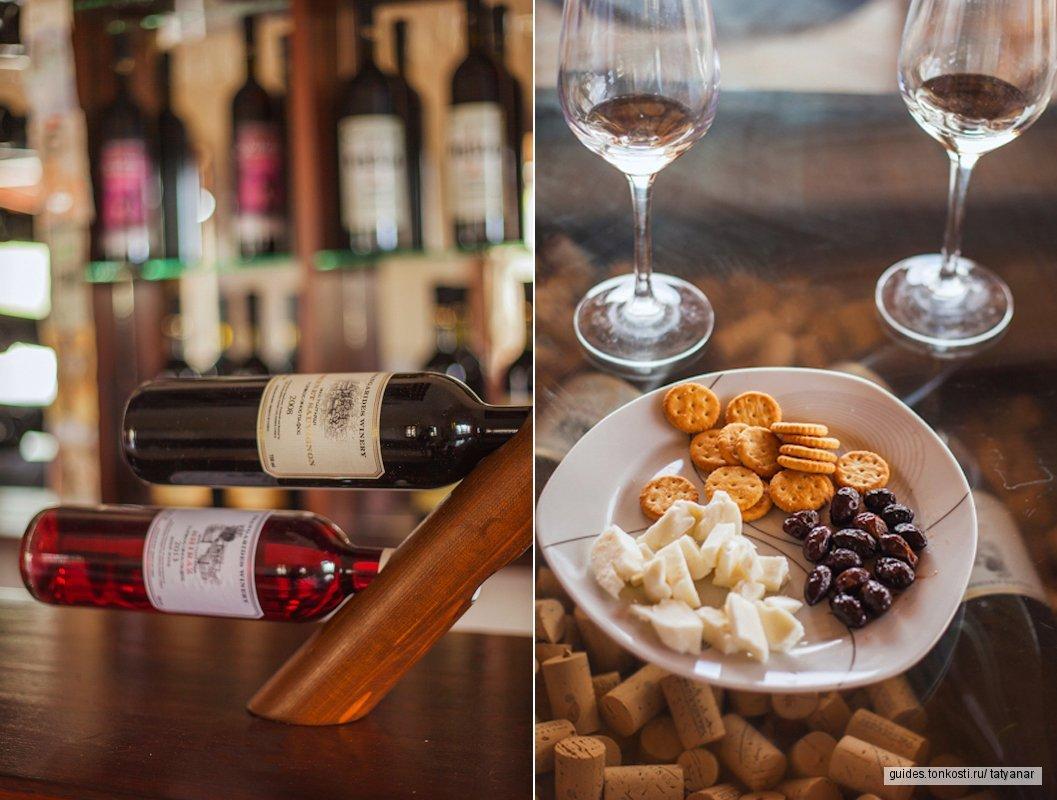 Винный тур, где реки вина и ужин в горах. Выезд из Лимассола