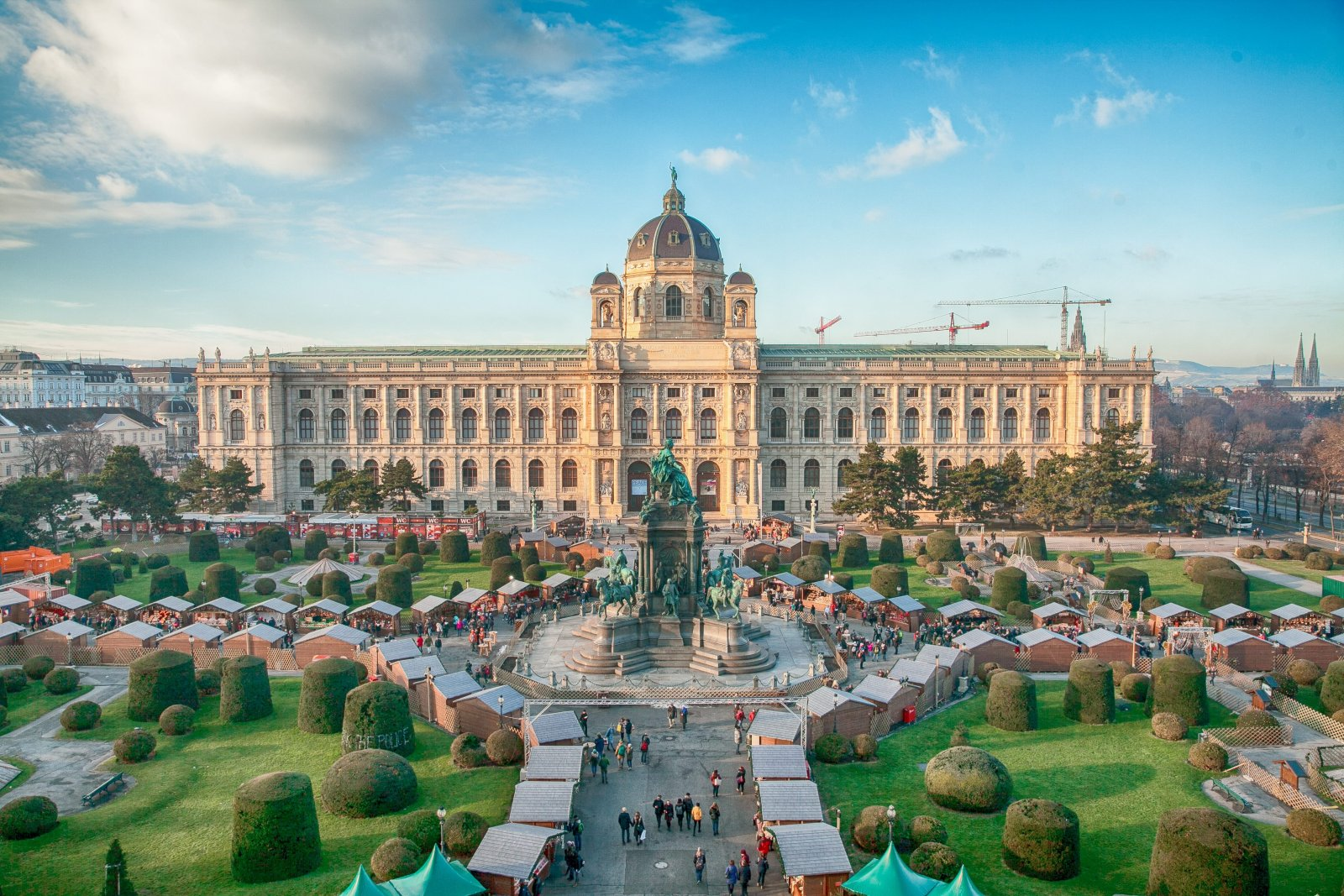 небанальная обзорная экскурсия по вене венская панорама экскурсия