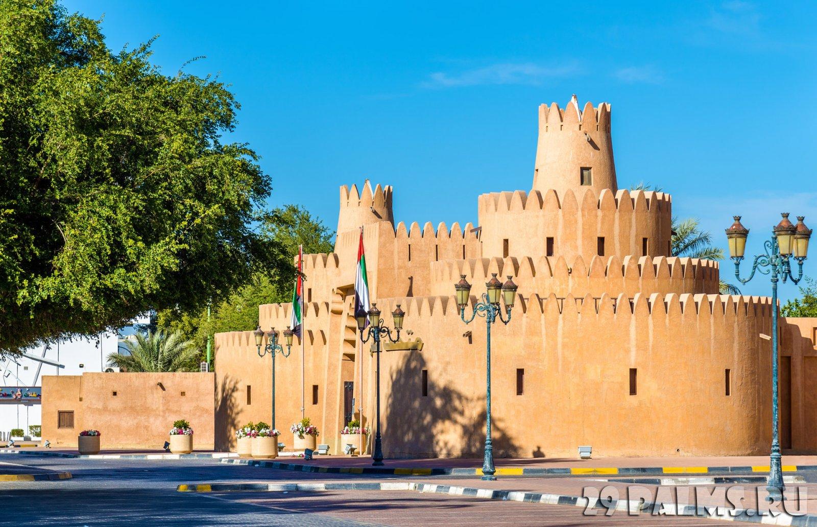 Этнографическая деревня в городе Абу-Даби