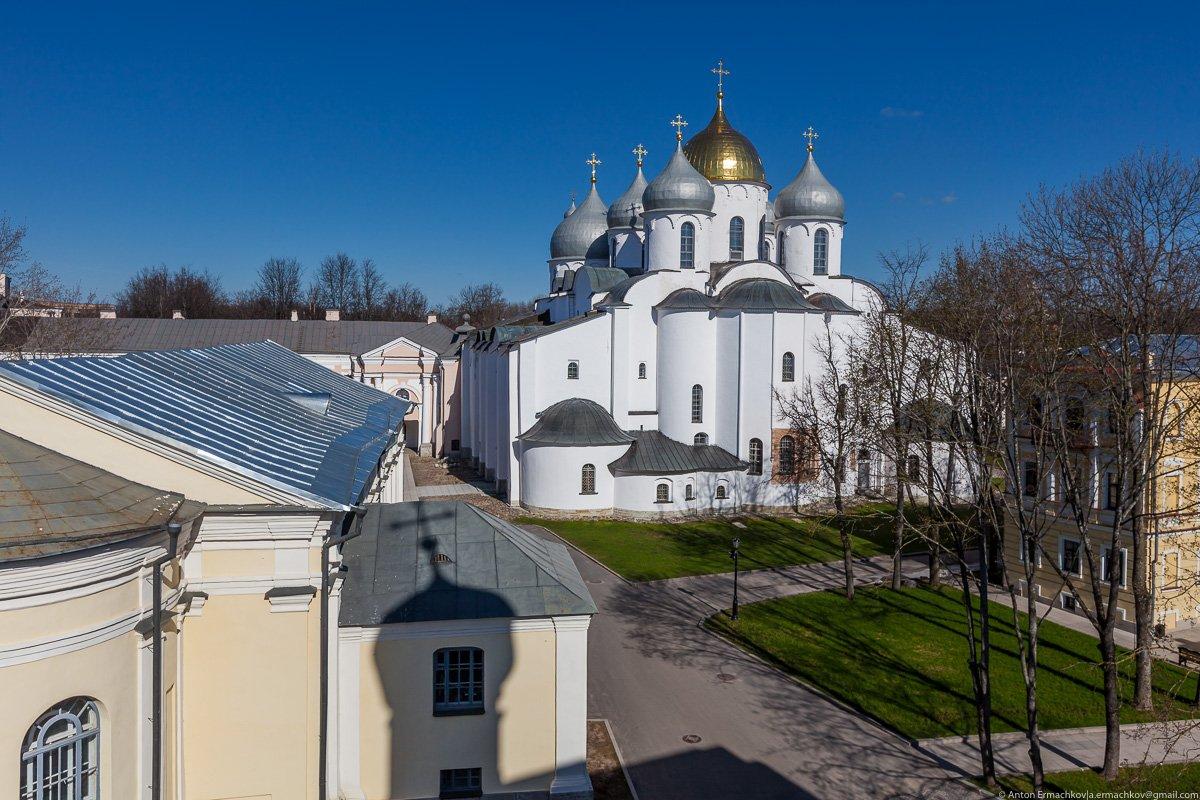 Великий Новгород. Однодневная поездка из Санкт-Петербурга в Великий Новгород