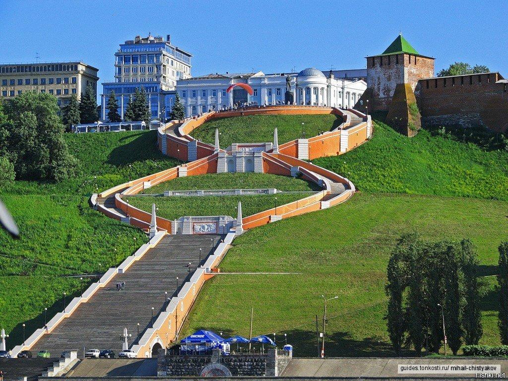 Нижний Новгород — жемчужина России (обзорная экскурсия)