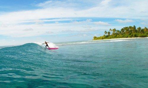 Серфинг в Атлантическом океане