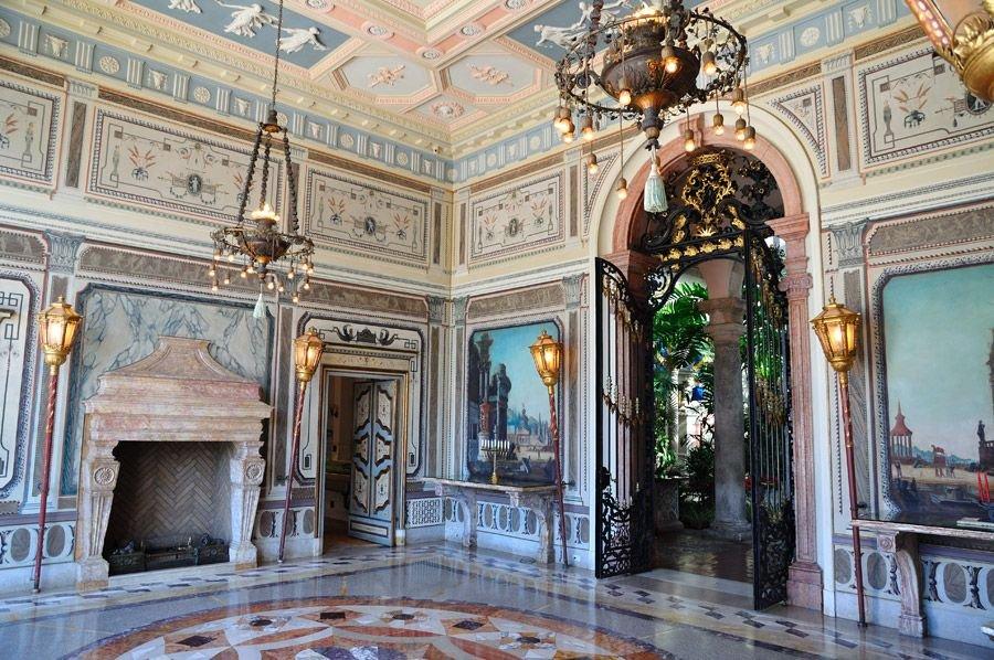 Вилла Виская — «Американский Версаль»