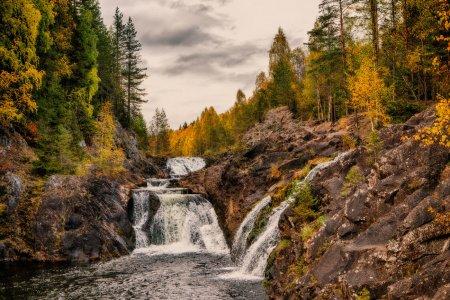Марциальные Воды — водопад Кивач