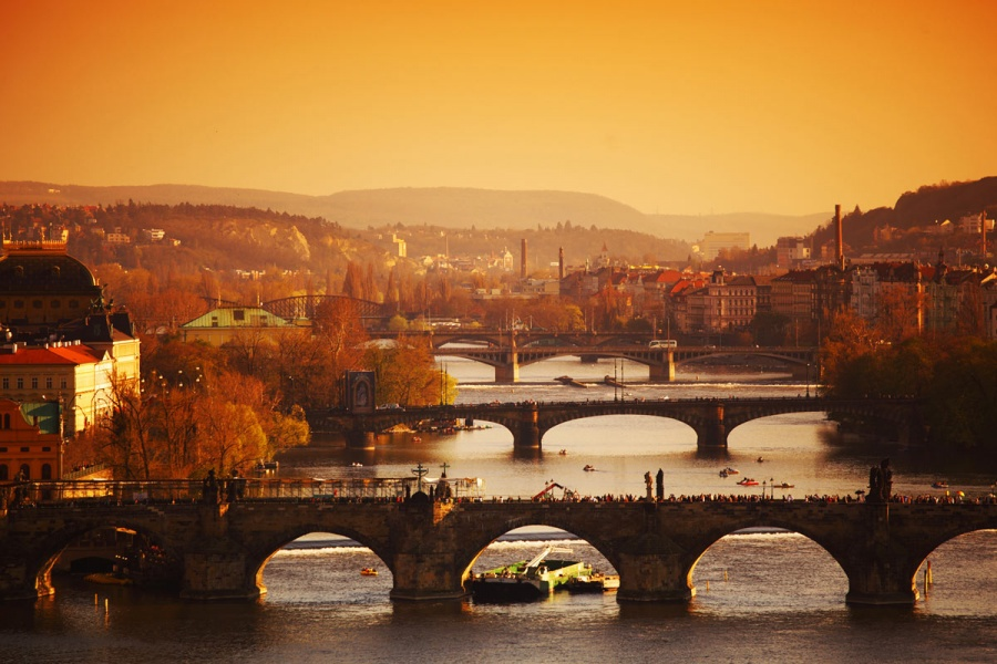 Прага — дорогой коронации королей
