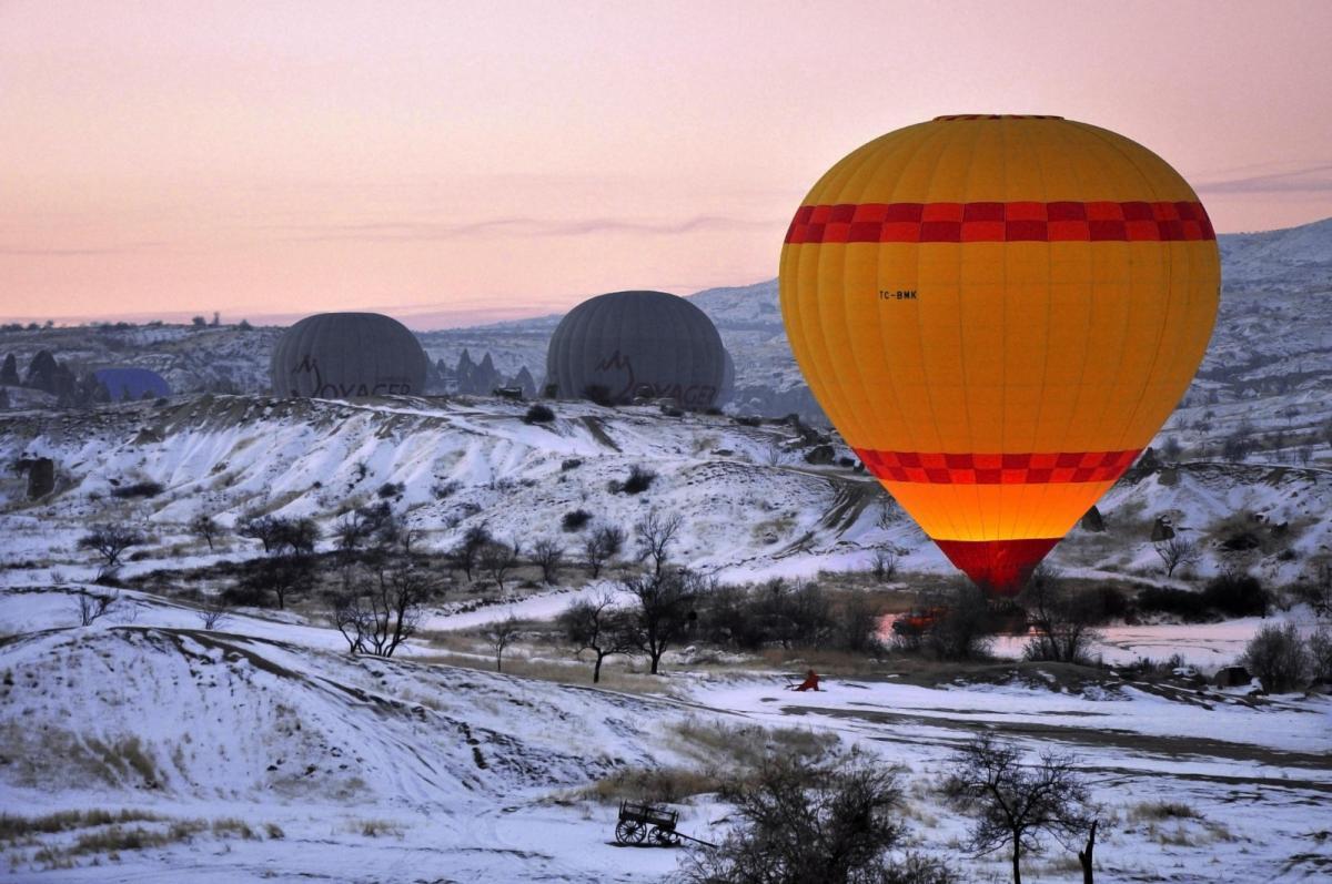 Каппадокия, воздушный шар