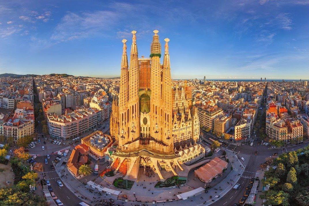 Барселона Премиум + фонтаны