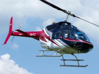 Прогулочный полет над Будапештом на вертолете
