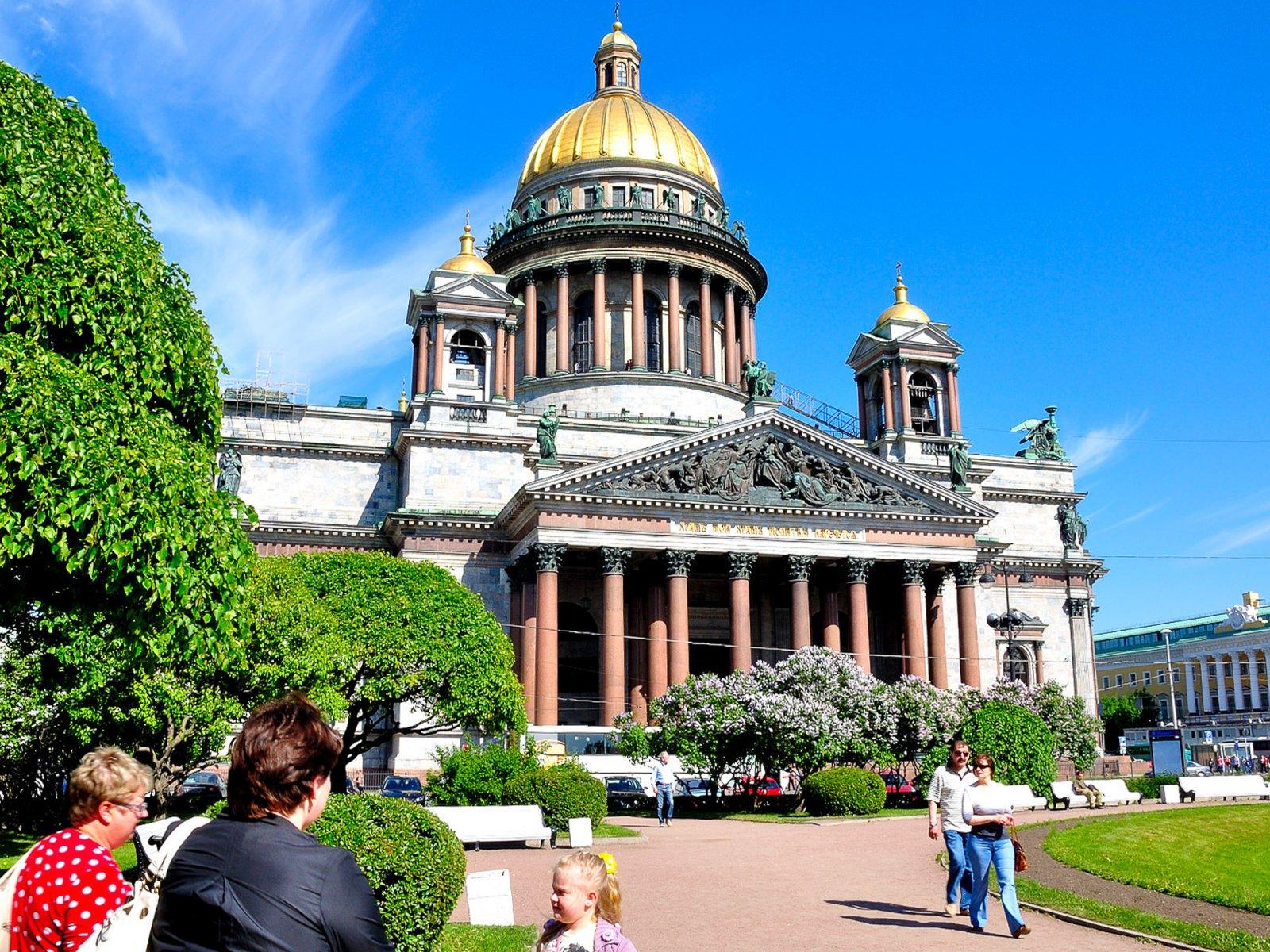 Три главных площади Петербурга за 2 часа