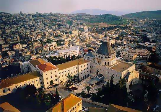Назарет и Галилейское море