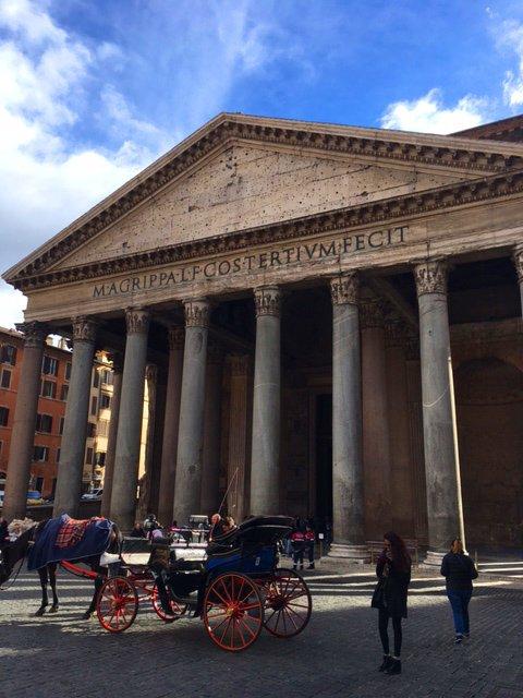 Гастрономическая прогулка на автомобиле (по уникальным гастрономическим римским местам и рынкам)