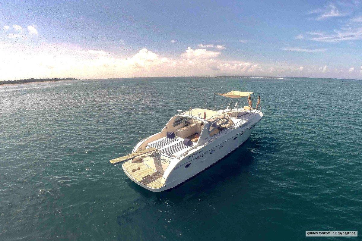 Морской круиз на яхте FOREVER к острову Лембонган