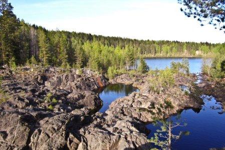Карельская песнь воды и скал (вулкан/каньон/водопад)