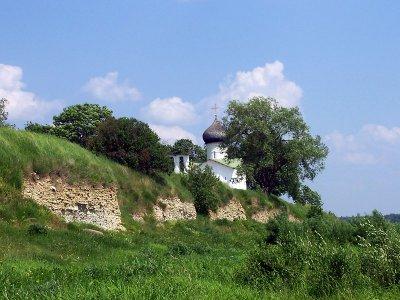 Путешествие в Выбуты, на родину княгини Ольги — основательницы Пскова