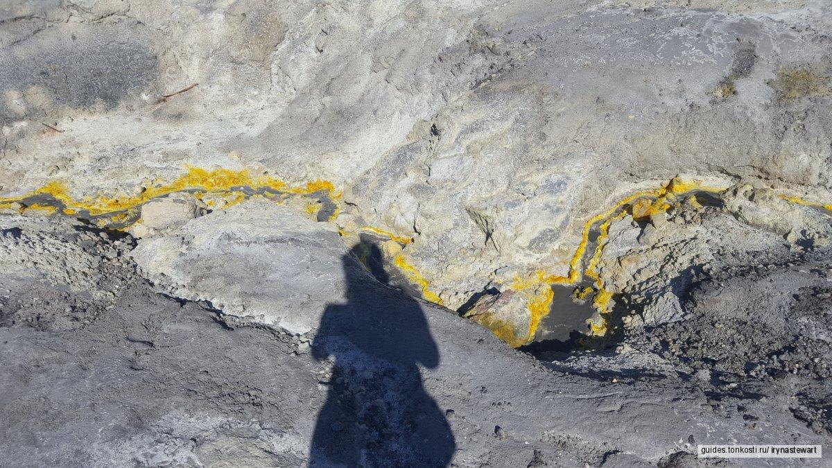 Полет на вулкан White Island и вулкан Таравера