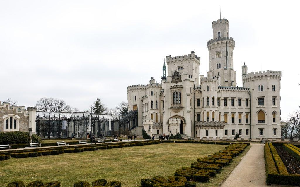 Замок Глубока и Чески-Крумлов