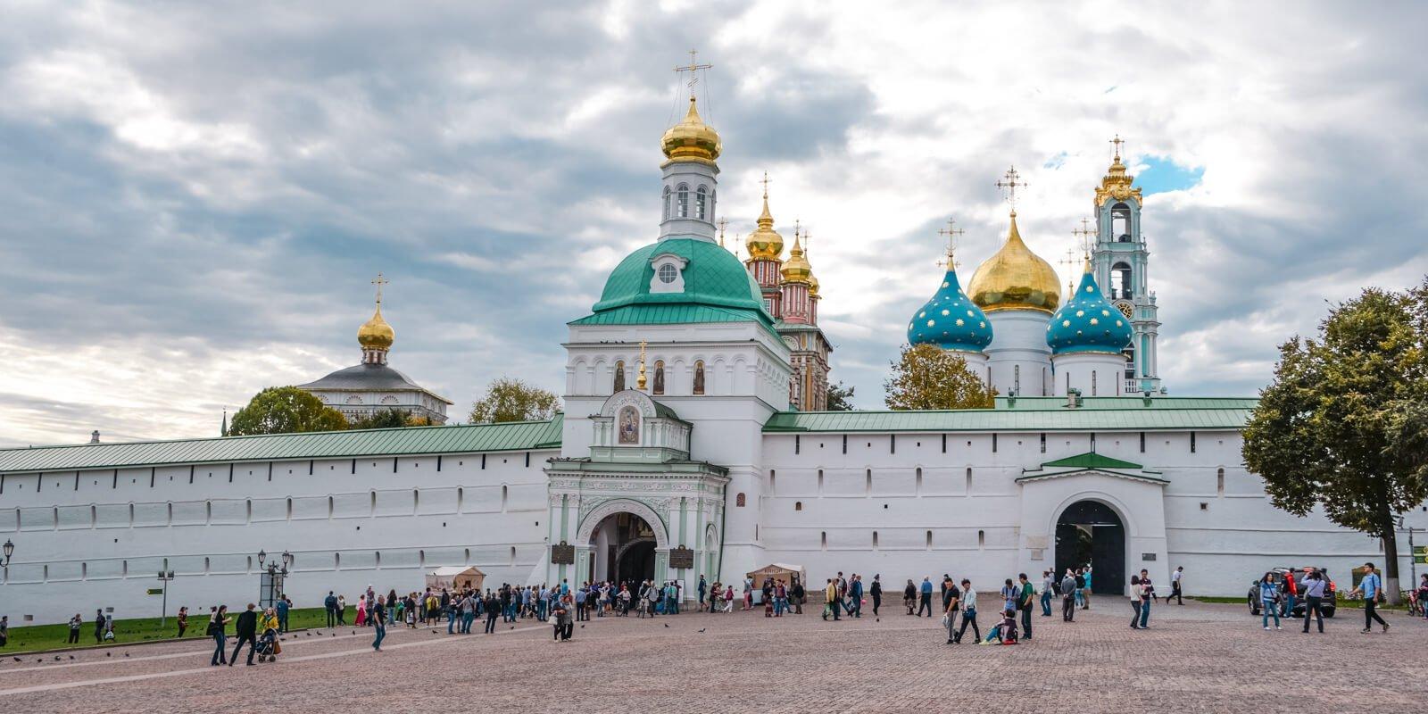 Квест-экскурсия «По святым местам: Троице-Сергиева Лавра»