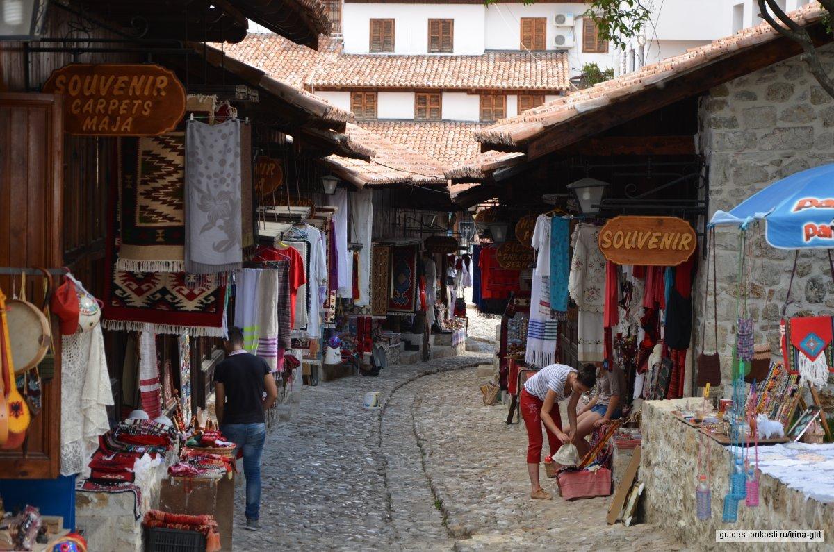 Круя. Средневековая крепость и Старый рынок