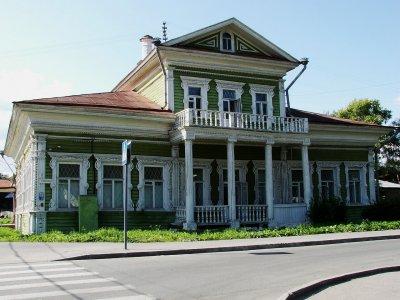 Деревянная архитектура Вологды