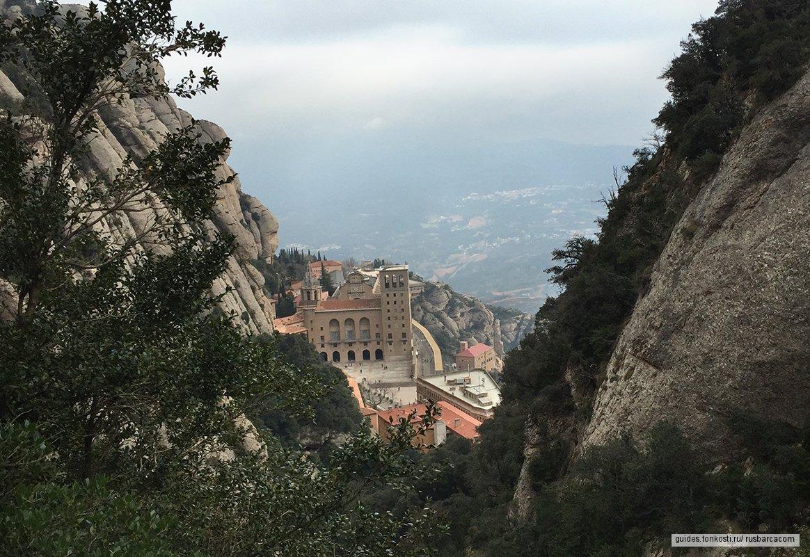 Гора и монастырь Монсеррат