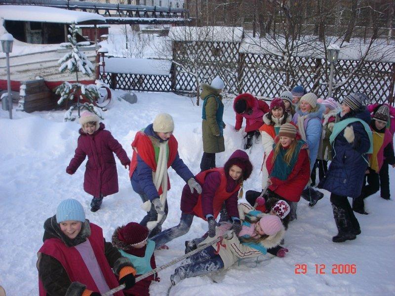 Экскурсия в деревню Деда Мороза