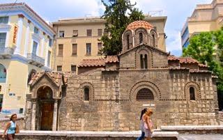 Византийские тайны Афин (пешеходная)