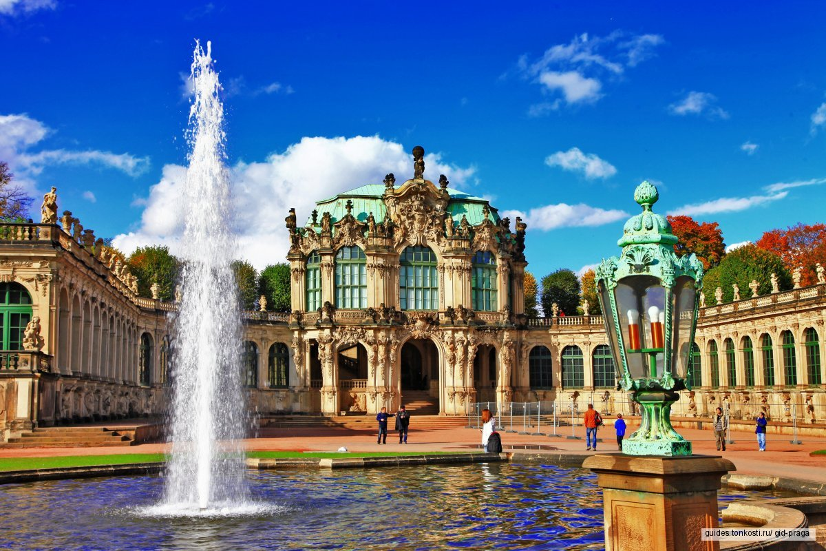 Самый красивый город Германии — Дрезден