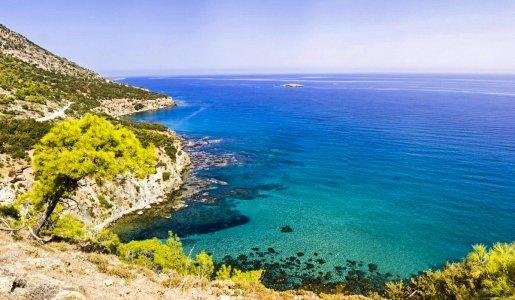 Дикие берега Кипра. Выезд из Пафоса